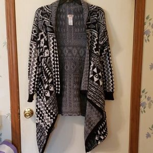 Mossimo draped cardigan sweater XXL